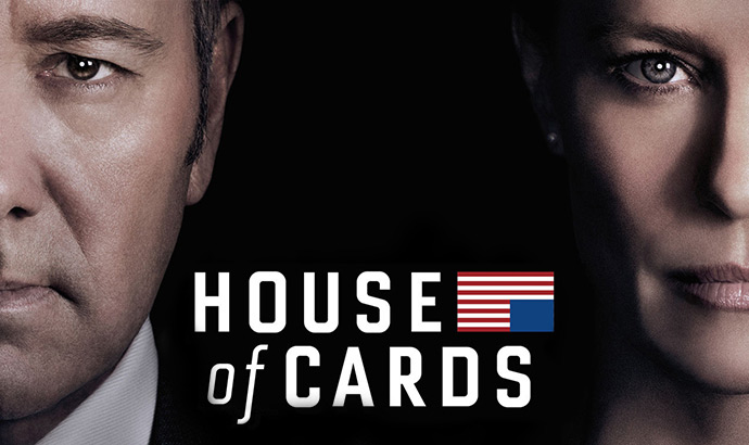 House of Cards TV show.